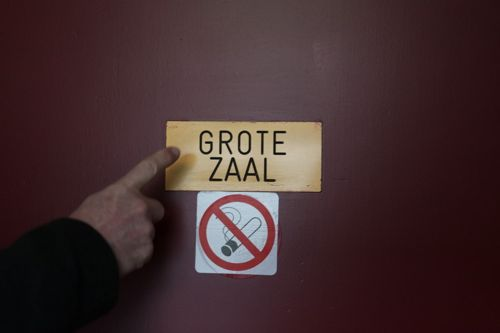 Grote zaal!